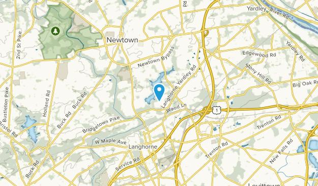 Bucktoe, Pennsylvania Map