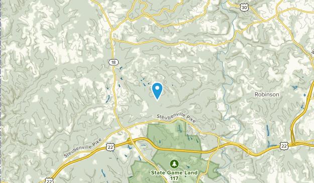 Burgettstown, Pennsylvania Map