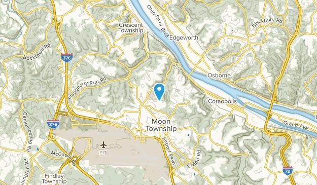 Carnot-Moon, Pennsylvania Map