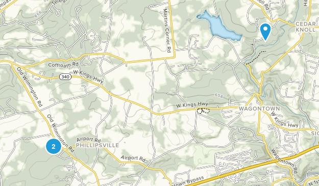 Coatesville, Pennsylvania Map