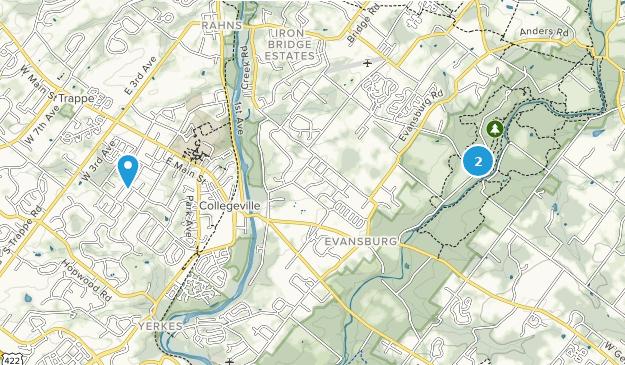 Collegeville, Pennsylvania Map