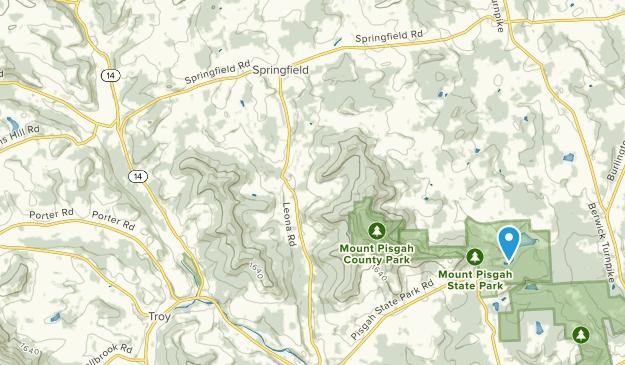 Columbia Cross Roads, Pennsylvania Map