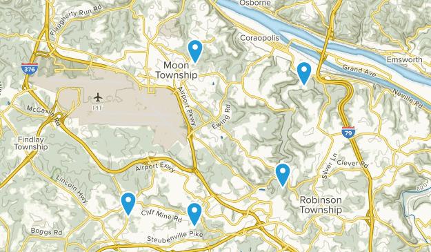 Coraopolis, Pennsylvania Map