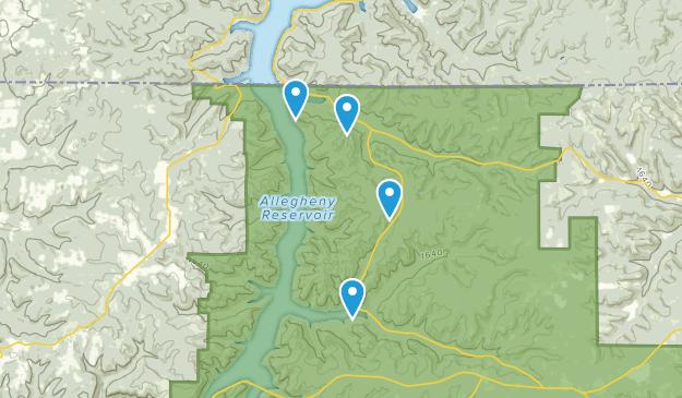 Corydon Twp, Pennsylvania Map