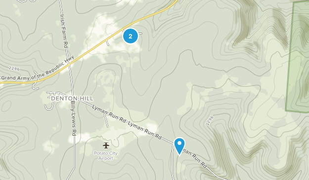 Coudersport, Pennsylvania Map