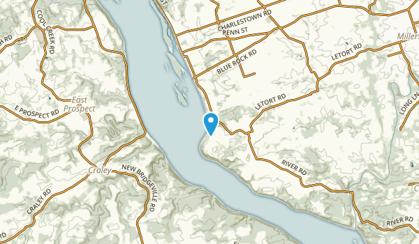 Creswell, Pennsylvania Map