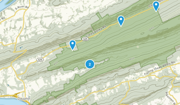 Dauphin, Pennsylvania Map