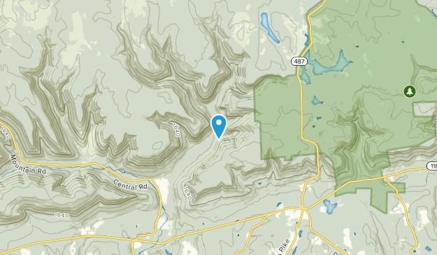 Davidson Twp, Pennsylvania Map