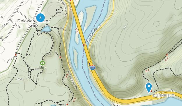 Delaware Water Gap, Pennsylvania Map
