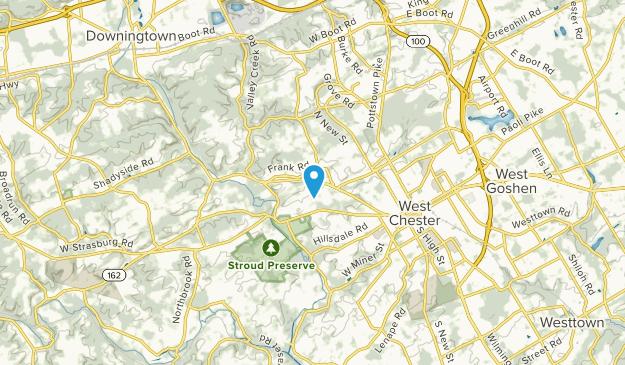 East Bradford, Pennsylvania Map