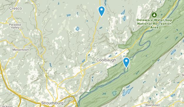 East Stroudsburg, Pennsylvania Map