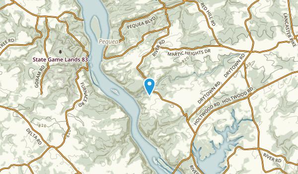 Erbs Mill, Pennsylvania Map