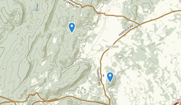 Fairfield, Pennsylvania Map