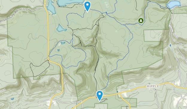 Fairmount, Pennsylvania Map
