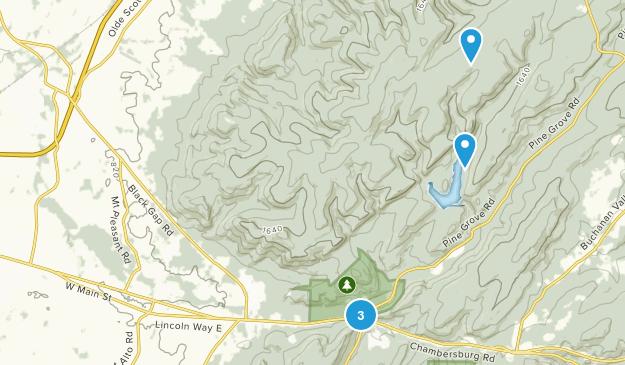 Fayetteville, Pennsylvania Map
