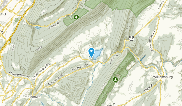 Frankstown Township, Pennsylvania Map