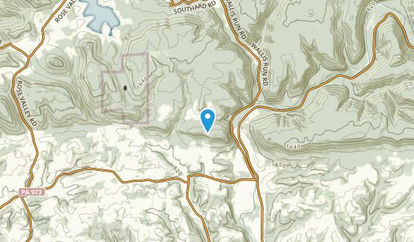 Gamble, Pennsylvania Map