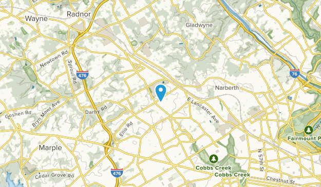 Haverford College, Pennsylvania Map