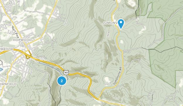 Hopwood, Pennsylvania Map