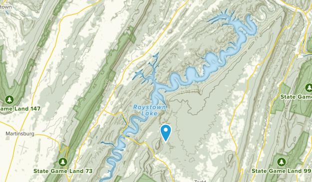 James Creek, Pennsylvania Map