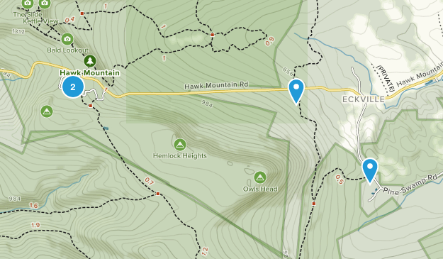 Kempton, Pennsylvania Map