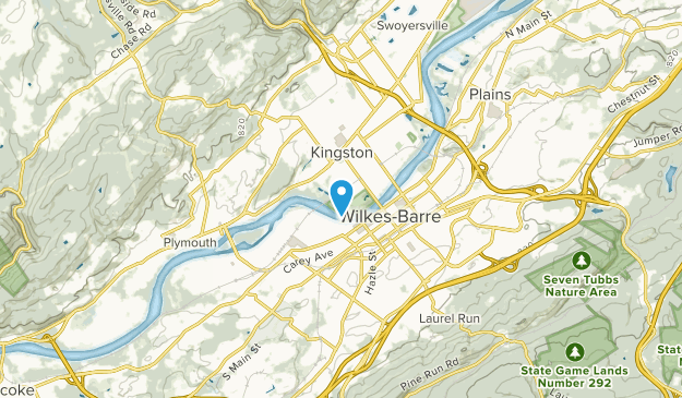 Kingston, Pennsylvania Map