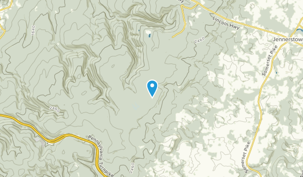 Laurel Summit, Pennsylvania Map