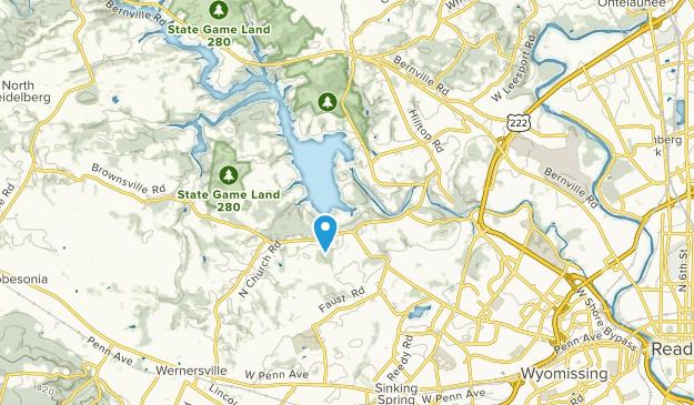 Leesport, Pennsylvania Map