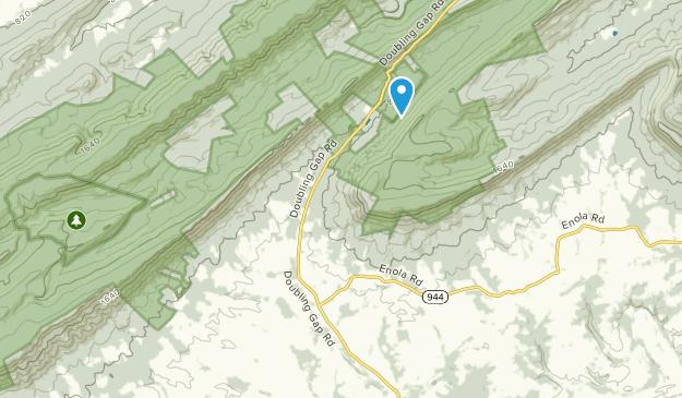 Lower Mifflin Township, Pennsylvania Map