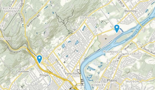 Luzerne, Pennsylvania Map