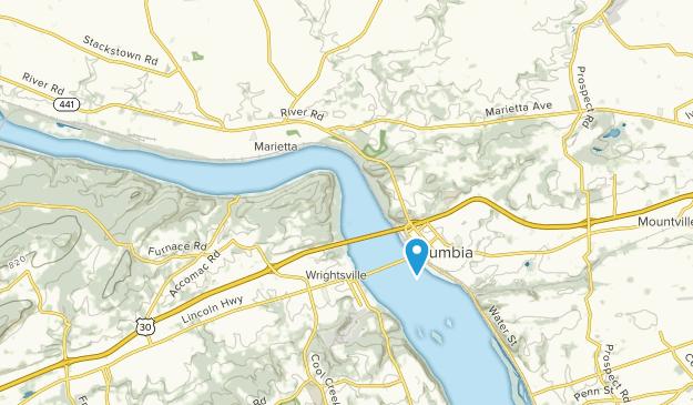 Marietta, Pennsylvania Map