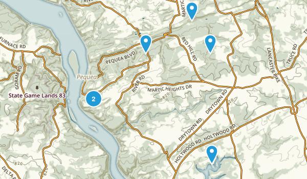 Martic, Pennsylvania Map