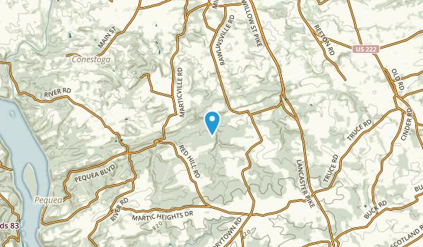 Marticville, Pennsylvania Map