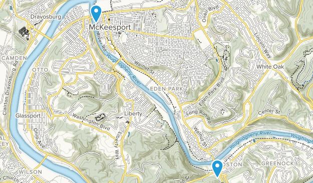 McKeesport, Pennsylvania Map