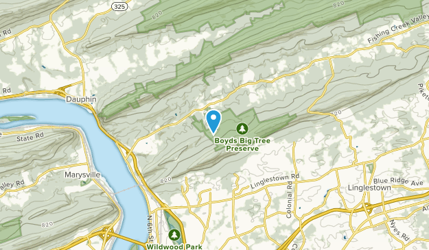Middle Paxton, Pennsylvania Map