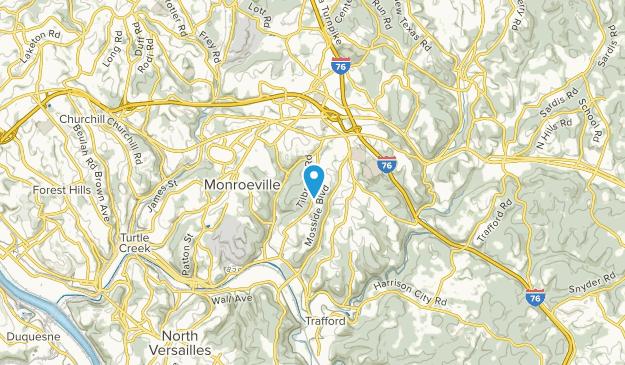 Monroeville, Pennsylvania Map