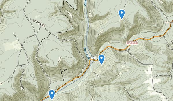 Morris, Pennsylvania Map
