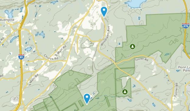 Mountain Top, Pennsylvania Map
