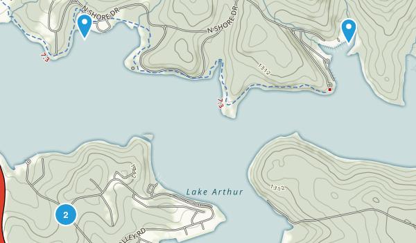 Nealeys, Pennsylvania Map