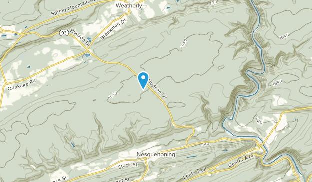 Nesquehoning, Pennsylvania Map