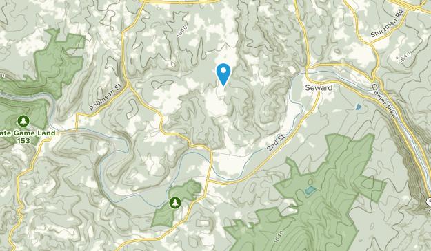 New Florence, Pennsylvania Map