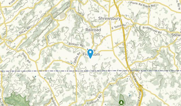 New Freedom, Pennsylvania Map