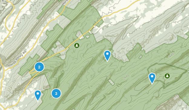 New Germantown, Pennsylvania Map