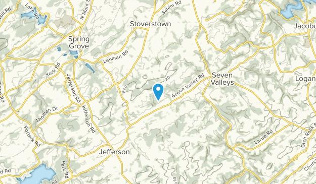 North Codorus, Pennsylvania Map
