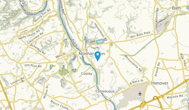Northampton, Pennsylvania Map