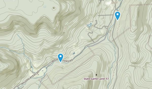 Noxen, Pennsylvania Map