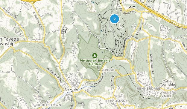 Oakdale, Pennsylvania Map