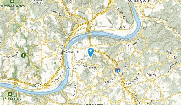 Oakmont, Pennsylvania Map
