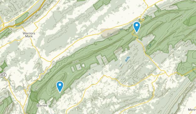 Pennsylvania Furnace, Pennsylvania Map