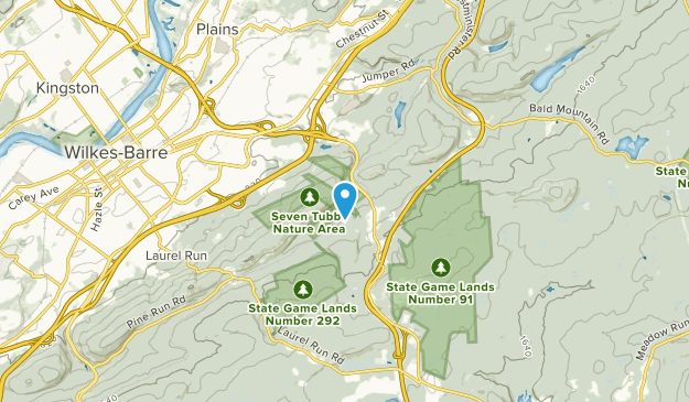 Plains Township, Pennsylvania Map